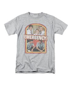 Look at this Heather 'Emergency' Cast Tee - Men's Regular on #zulily today!