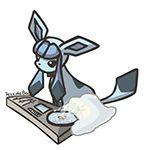 DJ-lution: Glaceon by PeekingBoo on DeviantArt Pokemon Gif, Pokemon Fan Art, Pokemon Stuff, Pokemon Eeveelutions, Eevee Evolutions, Cute Pokemon Pictures, Manga, Anime, Cute Art