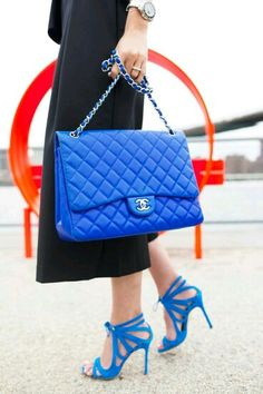 This is one of my favorite bags to pass me by on Chanel street. Chanel Maxi, Chanel Fashion, Fashion Bags, Chanel Jumbo Flap, Ankle Boots, Fab Bag, Chanel Handbags, Designer Handbags, Girls Shoes