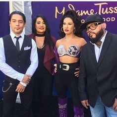 Madame Tussauds Hollywood Unveils Selena Quintanilla in Wax Selena Quintanilla Perez, Suzette Quintanilla, Madame Tussauds, Corpus Christi, Jackie Guerra, Pepe Aguilar, Hollywood, Latin Music, Orange Is The New Black