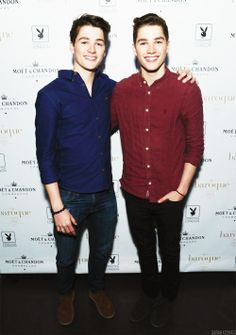 Jack and Finn harries. if they aren't attractive enough, just know that they're British! Jack And Finn Harries, Jack Finn, Cute White Boys, Cute Boys, British Youtubers, Future Boyfriend, Future Husband, Dan And Phil, Good Looking Men