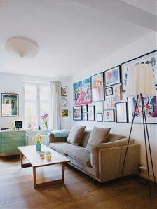 ROSY ANGELIS floor lamp by FLOS seen in this house in Sweden