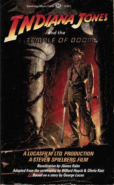 Indiana Jones Temple of Doom Novelization