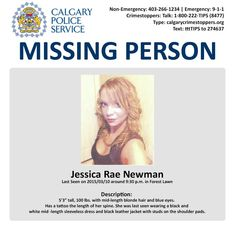 23 Best Canada missing images in 2019 | Missing persons, Amber alert