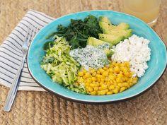Veggie bowl for lunch / Divaaniblogit