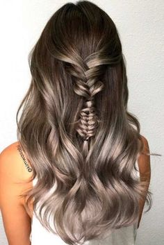 Cold Tones on Dark Ombre Hair picture3