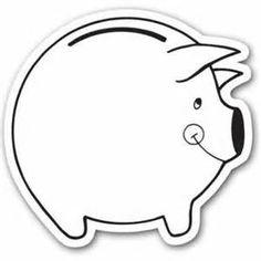 Αποτέλεσμα εικόνας για piggy bank craft for preschool printable Piggy Bank Craft, Preschool Education, Dan, Printables, Crafts, Manualidades, Print Templates, Handmade Crafts, Craft