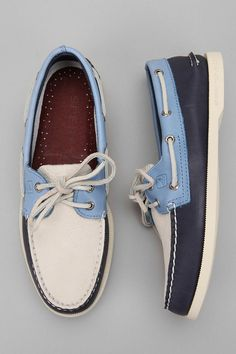 Sperry Top-Sider Colorblock Boat Shoe  #UrbanOutfitters