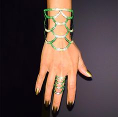 Check Out the Fabulous Jewelry from Rihanna's Benefit Auction Jewelry Auctions, Arm Party, Jewelry Trends, Rihanna, Jewelry Design, Gemstones, Heels, Benefit, Tumbler