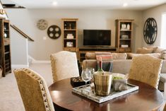 How would you like to entertain your guest in this neat lower level rec room? Enjoy Your Sunday, Love Your Home, Live Life, Rest, Entertaining, Quote Life, Funny