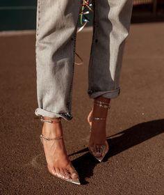 New Cinderella slippers. (tap for brand) - Fashion Clothing 2019 New Cinderella, Cinderella Slipper, Look Fashion, Fashion Shoes, Womens Fashion, Fashion Trends, Dress Fashion, Fashion Beauty, Men Dress
