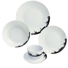 Found it at Wayfair.co.uk - Italia Mia Porcelain Dinnerware Set