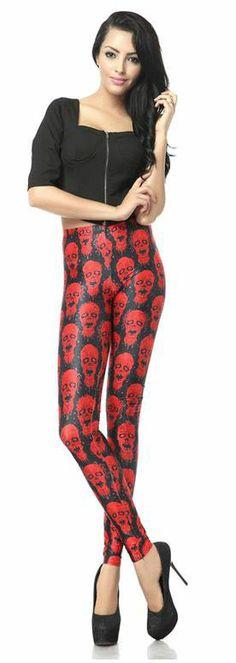 Leggings Zombies. The Walking Dead Preciosos leggings con la imagen de varias cabezas de zombies, corre y no te quedes sin ellos o los zombies te comerán.