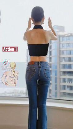 Body Weight Leg Workout, Full Body Gym Workout, Back Fat Workout, Gym Workout Videos, Gym Workout For Beginners, Waist Workout, Fitness Workout For Women, Leg Workout Women, Workouts