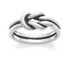 Check out Lovers' Knot Ring from James Avery
