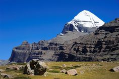 The almighty Gang Ti Se, worldwide better known as Mt Kailash, Tibet, by reurinkjan, via Flickr