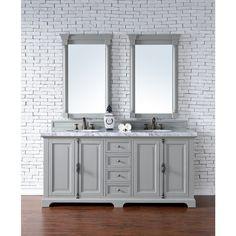 Providence Urban Grey 72-inch Double Vanity Cabinet