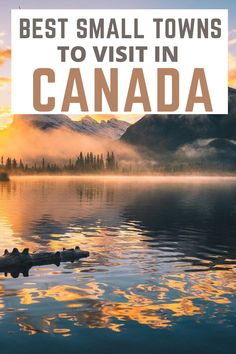There are so many spectacular places to visit in Canada, from large, vibrant cities to small mountain villages, as well as mountains, lakes, valleys, and waterfalls. Here is a list of the 15 best towns to visit in Canada. Must-visit beautiful places in Canada. The most beautiful towns in Canada. Must--visit towns in Canada. Canada bucket list #canada #canadatravel #beautifultowns #smalltowns #canadatowns #canadasmalltowns #canadabestspots #travelinspiration #vacation #canadabucketlist Canada Canada, Visit Canada, Canada Travel, Fun Travel, Travel Goals, Travel Tips, World Travel Guide, Travel Guides, Central America
