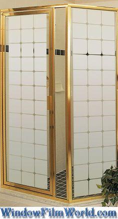 Monte Carlo Decorative Semi Privacy Glass Covering Film from WindowFilmWorld.com