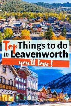 Looking for the top unique things to do in Leavenworth, WA? Here you have my Leavenworth Travel Guide with the best travel tips for visiting Washington's Bavarian Village, the most charming Bavarian town in the Pacific Northwest! Leavenworth Washington I Leavenworth Christmas I Leavenworth summer I Leavenworth winter I Leavenworth fall I Leavenworth Oktoberfest I Leavenworth restaurants I Leavenworth spring Honeymoon On A Budget, Romantic Honeymoon Destinations, Honeymoon Places, Leavenworth Christmas, Usa Travel Guide, Travel Usa, Travel Tips, Washington Things To Do