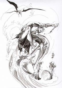 Alex Nino - Ka-zar & Zabu Comic Art