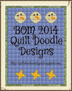 BOM 2014-by Cindy Here is a complete listing for the Quilt Doodle BOM 2014. So just in case you missed a month or two, this is a resource guide for your reference