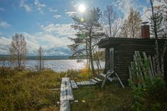 56 Reasons You Should Move To Finland Immediately Cinnamon buns, endless summer nights, and saunas. Lakeside Cabin, Lofoten, Nature Images, Best Cities, Places To Travel, Countryside, Beautiful Pictures, Around The Worlds, Saunas
