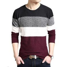 Quad Colour Sweater