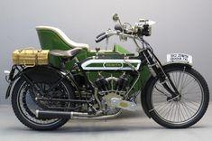 Старинный мотоцикл Zenith Gradua 1912