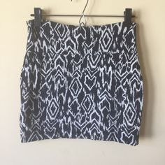 Tribal Mini Tribal print mini skirt. Body-con / form fitting. Best styled as a high waisted skirt. 14.5 inches in length. Size is slightly flexible. Skirt is in perfect condition. K01 Charlotte Russe Skirts Mini