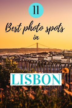 Discover the 11 Best Lisbon photo ideas!! some of this spots you may have never heard about them!! #Lisbonphotoideas #lisbon #lisbontravel #lsbonlportugal #Lisbonphotography #lisbonphotographyinspiration #lisbonphotographyideas #lisboninstagram Photography Tours, Sunset Photography, Portugal Travel Guide, Adventures Abroad, Instagram Worthy, Street Photo, Travel Deals, Photo Location, Travel Advise