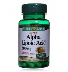 Nature's Bounty Super Alpha Lipoic Acid - 30 Capsules