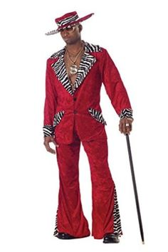6d4109490614 California Costumes Men s Pimp Costume Pimp Costume Men