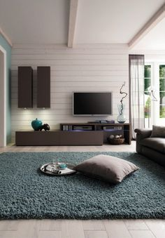 Amsterdam Combination-11202 Modern Wall Unit by Creative Furniture