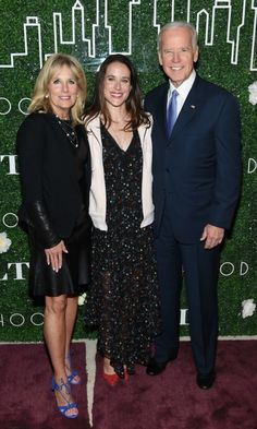 Jill Biden and former Vice President Joe Biden celebrated with the lady of the hour (and their daughter) Ashley during the launch of the exclusive GILT x Livelihood collection in NYC. Fashion Line, New York Fashion, World Of Fashion, Ali Fedotowsky, Jill Biden, Us Presidents, Michelle Obama, Fashion Labels, Daughter