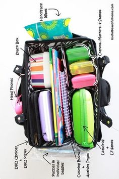 Vacation packing, travel packing, travel bags, car travel, packing tips Vacation Packing, Travel Packing, Packing Tips, Travel Bags, Traveling Tips, Travelling, Vacation Food, Travel Trip, Cruise Vacation