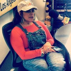 Beautiful Jenni Rivera And Her Famous Overalls