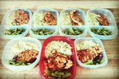#mealprepsunday #chicken #greens #rice #yum  Ready to take on the week  by r_mckee_89