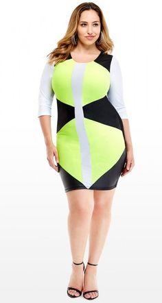 Jada Sezer in  Fashion To Figure #jada sezer #plus size #curvy #plus size dress #fashion to figure