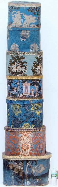 Inspiration for what we may have in The Gardner archives... wallpaper stack from Gould auctions