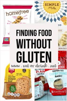 Celiac Awareness Month: The Best Gluten Free Foods. Finding gluten free food at the grocery store. New to the gluten free diet, advice, gluten free on a budget tips. Gluten Free Bread Brands, Gluten Free Fast Food, Gluten Free Donuts, Best Gluten Free Recipes, Gluten Free Recipes For Dinner, Foods With Gluten, Free Food, Dairy Free, Gluton Free