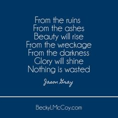 Did You Forget? Nothing Is Wasted - Becky L McCoy