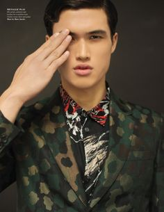 Charles Melton in Marc by Marc Jacobs RE12 photographed by Nikolai De Vera for Fashionisto #6