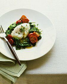 Per serving: 209 calories, 14 g fat, 425 mg cholesterol, 7 g carbs, 457 mg sodium, 15 g protein, 2 g fiber
