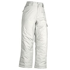 White Sierra Girls Cruiser Snow Pant Cloud Medium -- Be sure to check out this awesome product.(This is an Amazon affiliate link)