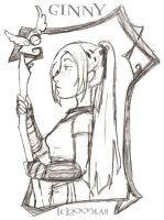 Quidditch Ginny by lberghol