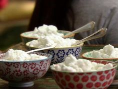 Coconut-Lime Granita Recipe by Aarti Sequeira @ foodnetwork.com