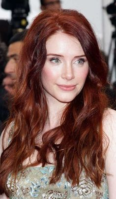 Dark Red Auburn Hair Color