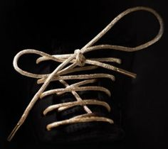 19k gold laces. um, really?