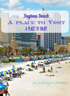 Plan A Trip to Daytona Beach, check out the fun adventure that you can do. #LoveDaytonaBeach #sponsored